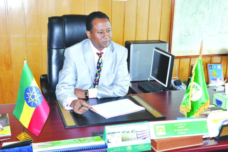 ESSAYAS BAHRE, PRESIDENT, DEVELOPMENT BANK OF ETHIOPIA