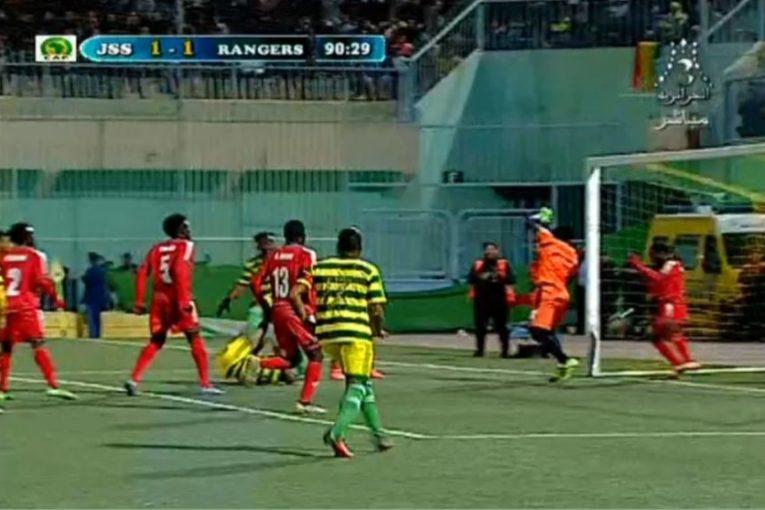Rangers JS-Saoura Match
