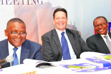 Dangote Cement pays shareholders N144.8 bn dividend