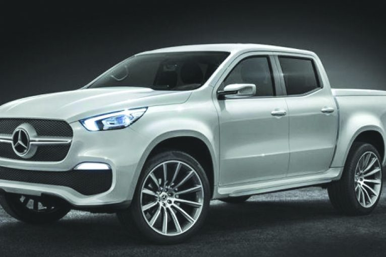 Unveiling Mercedes X-Class pick-up
