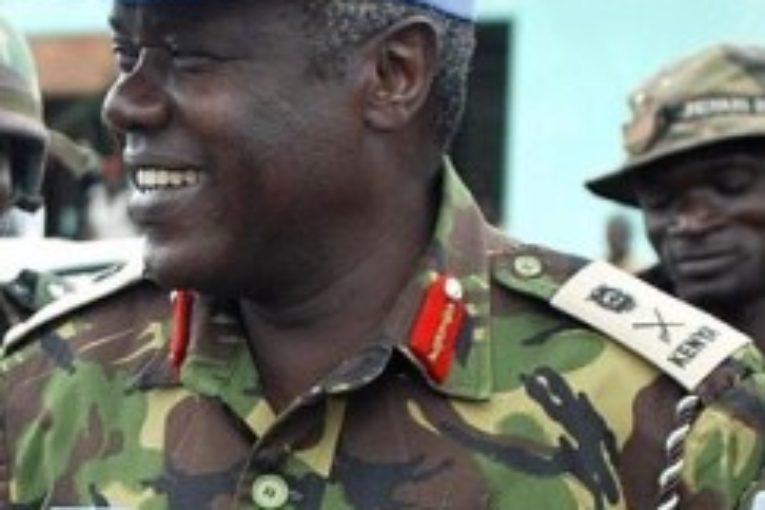 Lt. Gen. Daniel Opande, first force commander, UN Mission in Liberia
