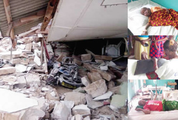 Pandemonium as 100-year-old Delta church collapses