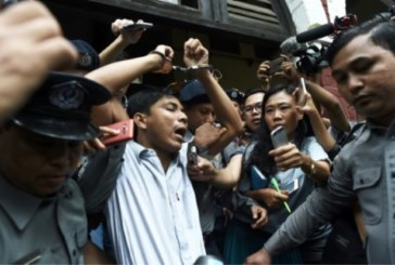Reuters reporters Jailed for 7 years in Myanmar 'State Secrets' case